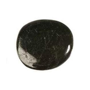 Toermalijn (zwart) platte steen