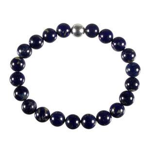 Lapis lazuli armband 20 cm | 8 mm kralen