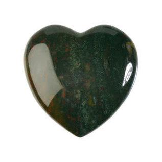 Heliotroop edelsteen hart 4 cm