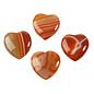 Carneool hanger hart doorboord