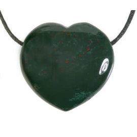 Heliotroop hanger hart doorboord