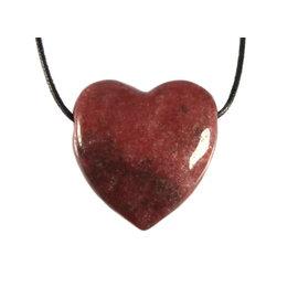 Rhodoniet hanger hart doorboord
