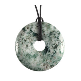Agaat (boom) hanger donut 4 cm