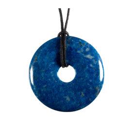 Lapis lazuli hanger donut 4 cm