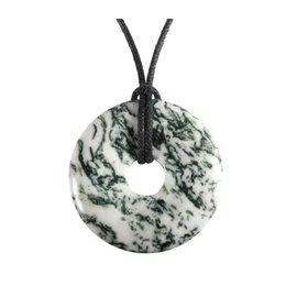Agaat (boom) hanger donut 3 cm
