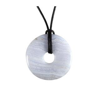 Chalcedoon hanger donut 3 cm