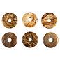 Jaspis (landschap) hanger donut 3 cm