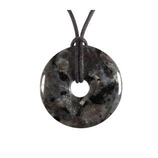 Larvikiet hanger donut 3 cm