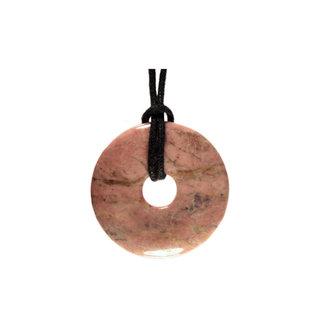 Rhodoniet hanger donut 3 cm