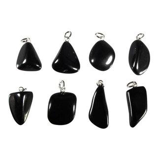 Jade (zwart) hanger