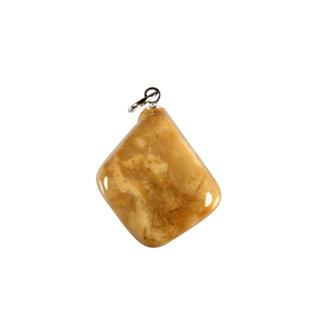Jaspis (geel) hanger