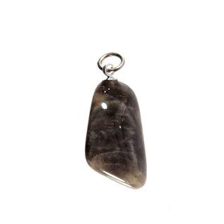 Maansteen (zwart) hanger