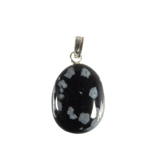 Obsidiaan (sneeuwvlok) hanger