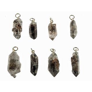 Tibetaanse zwarte kwarts hanger kristal