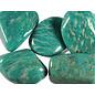 Amazoniet trommelstenen XXL (100 gram)