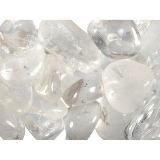 Bergkristal trommelstenen M (50 gram)