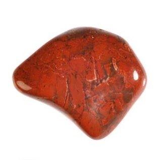 Jaspis (breccie) trommelstenen M (50 gram)