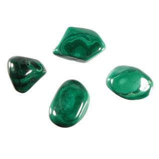 Malachiet trommelstenen XL (50 gram)