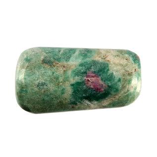 Robijn in fuchsiet trommelstenen L (50 gram)