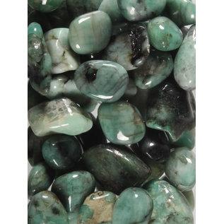 Smaragd trommelstenen S (50 gram)