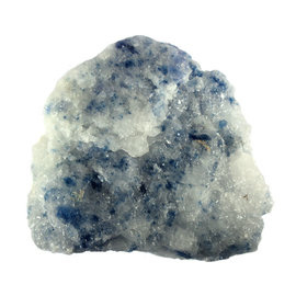 Haliet (blauw) ruw 13,5 x 13,5 x 4 cm / 868 gram