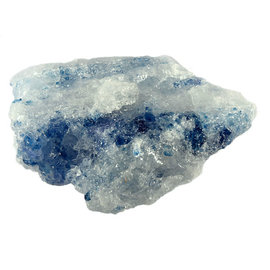 Haliet (blauw) ruw 16 x 11 x 5 cm / 913 gram