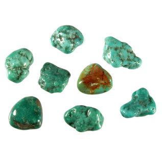 Turkoois trommelstenen S (50 gram)