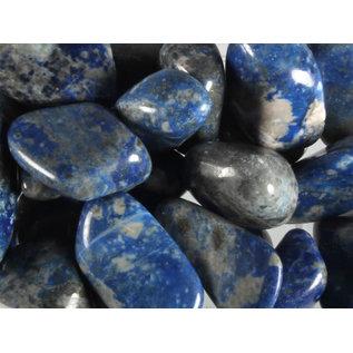 Lapis lazuli (Chileens) trommelstenen M (50 gram)
