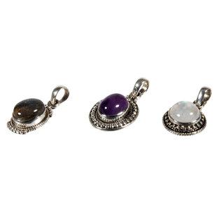 Set van 3 zilveren hangers (3-1)