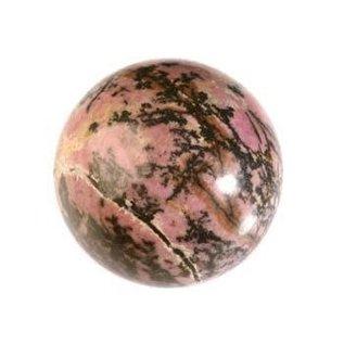 Rhodoniet edelsteen bol 40 mm