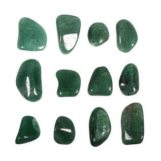 Aventurijn (groen) trommelstenen M (50 gram)