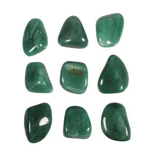 Aventurijn (groen) trommelstenen XL (50 gram)