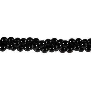 Onyx kralen rond 6 mm (streng van 40 cm)