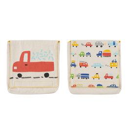 Fluf Snack-/boterham zakjes - Cars (Set van 2)