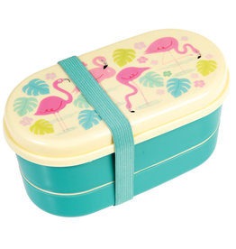 Rex London Bento box voor kleuters - Flamingo bay