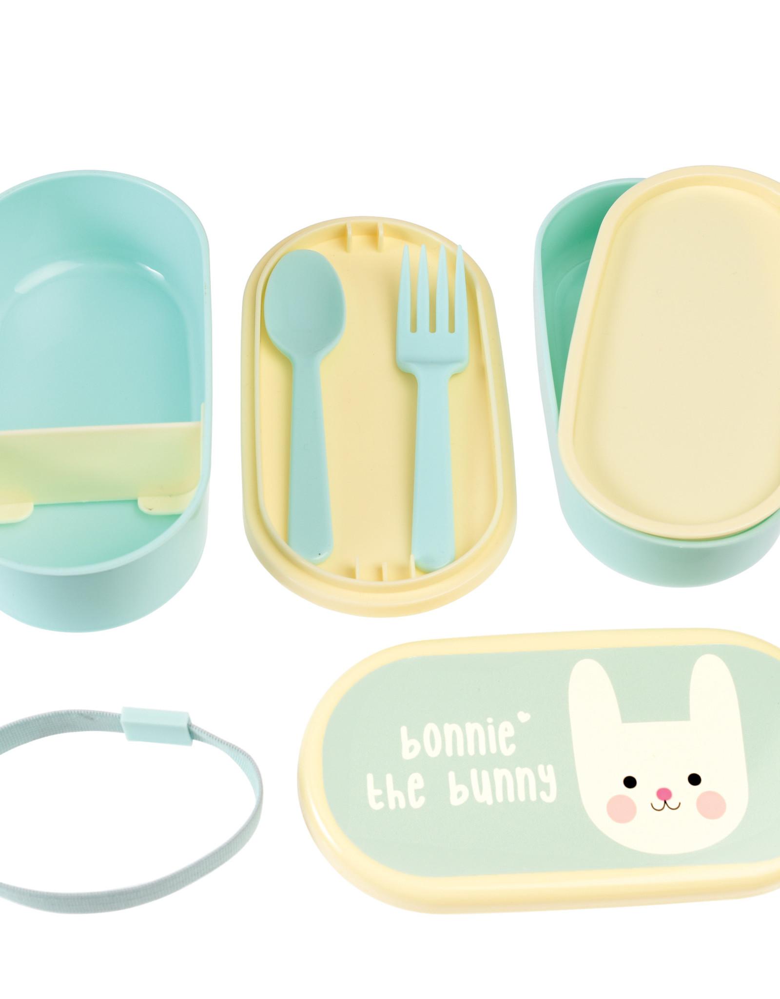 Rex London Bento box voor kleuters - Bonnie the bunny
