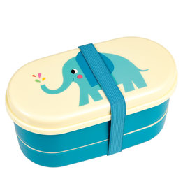 Rex London Bento box voor kleuters - Elvis the elephant
