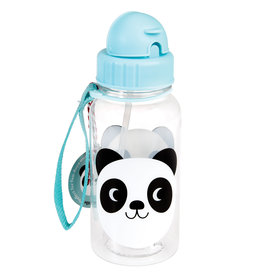 Rex London Drinkbus met rietje - Miko the panda 500 ml