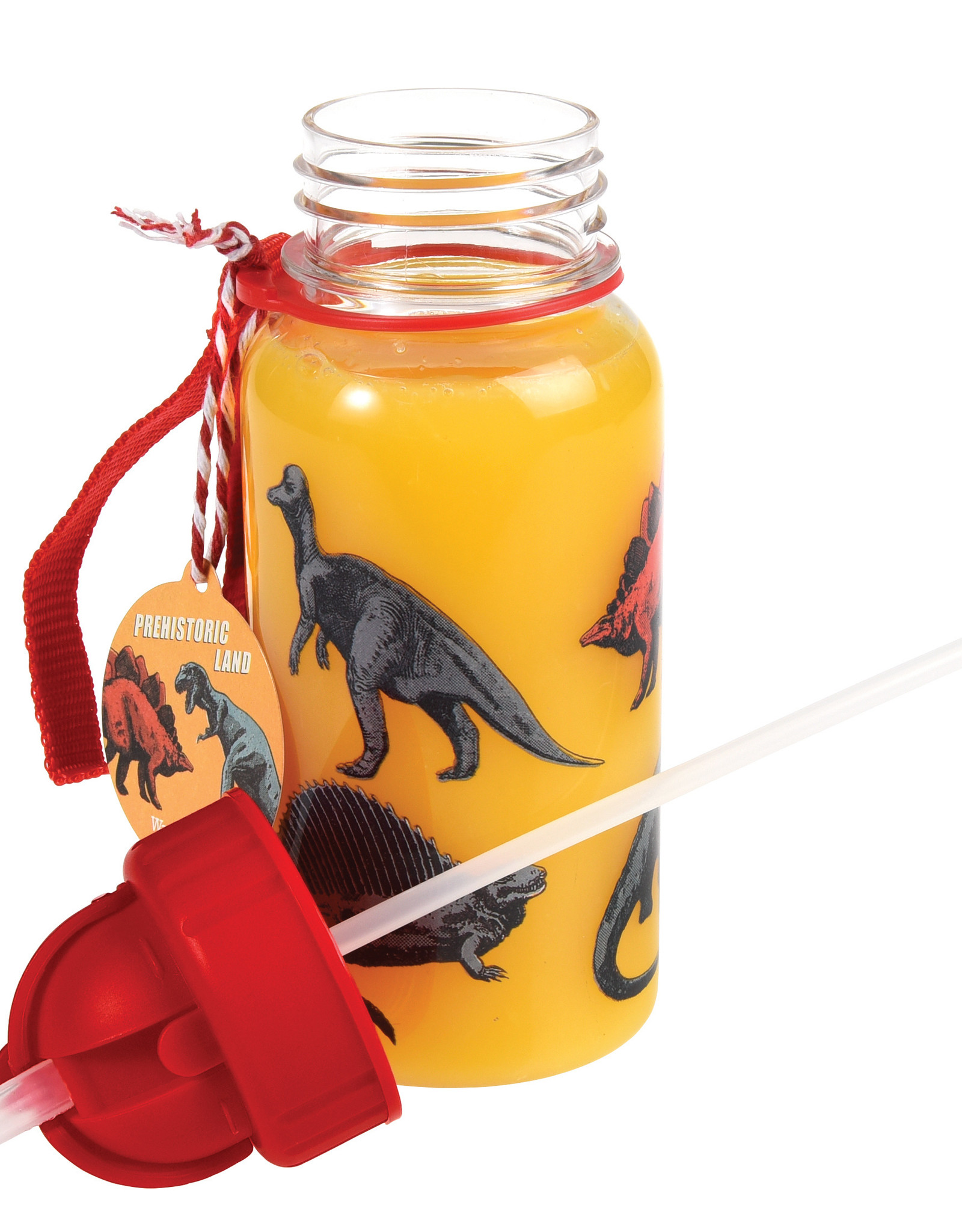 Rex London Drinkbus met rietje - Prehistoric land 500 ml