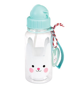 Rex London Drinkbus met rietje - Bonnie the bunny 500 ml