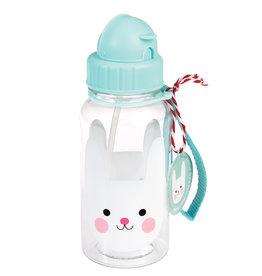 Rex London Drinkbus met rietje - Bonnie the bunny 500 ml