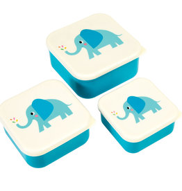 Rex London Snackdoosjes (set van 3) - Elvis the elephant