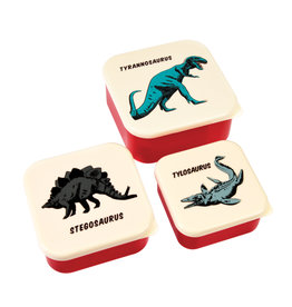 Rex London Snackdoosjes (set van 3) - Prehistoric land