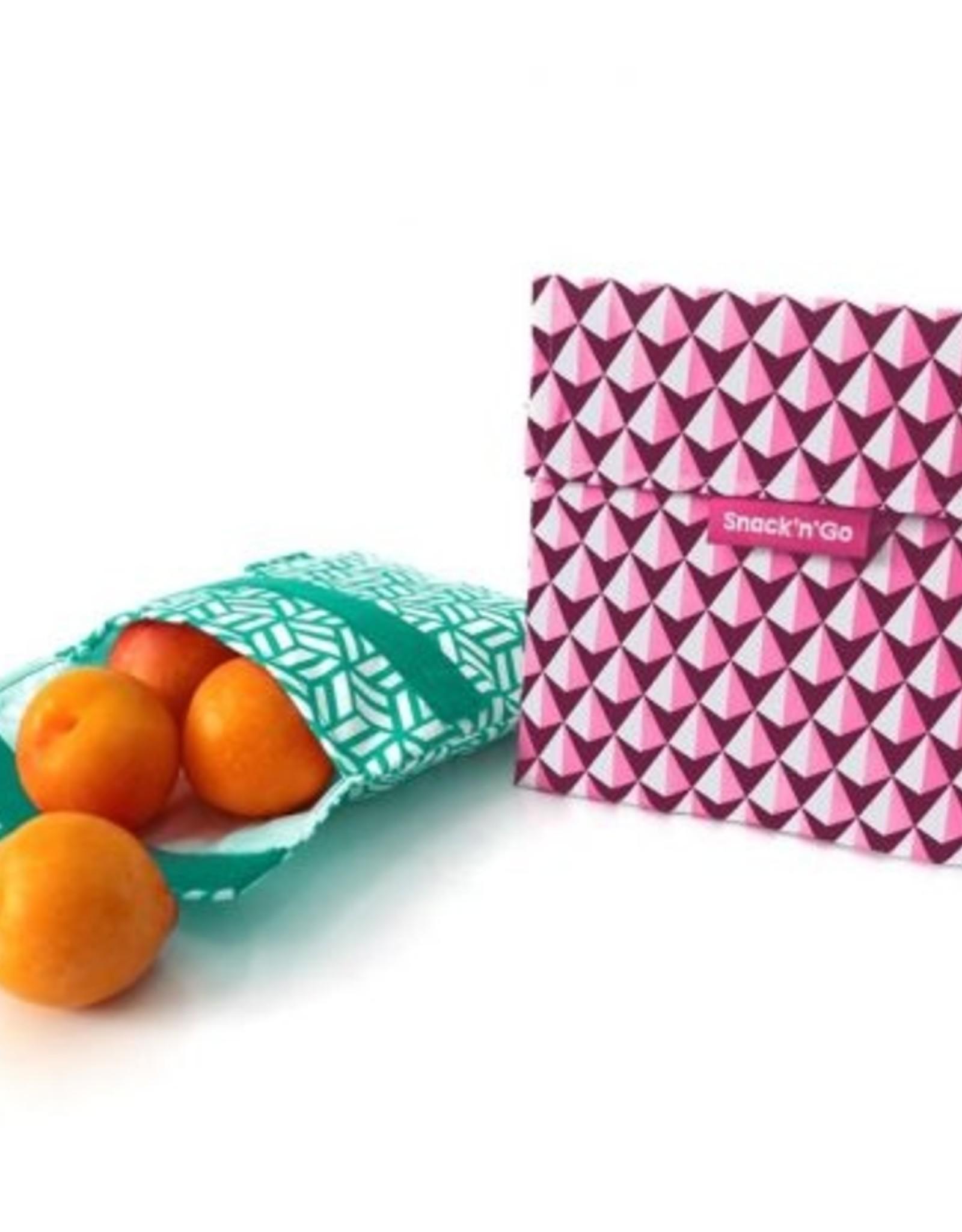 Roll'Eat Snack'n'Go - Tiles pink