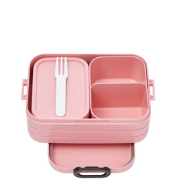 Mepal Bento lunchbox take a break midi - nordic pink