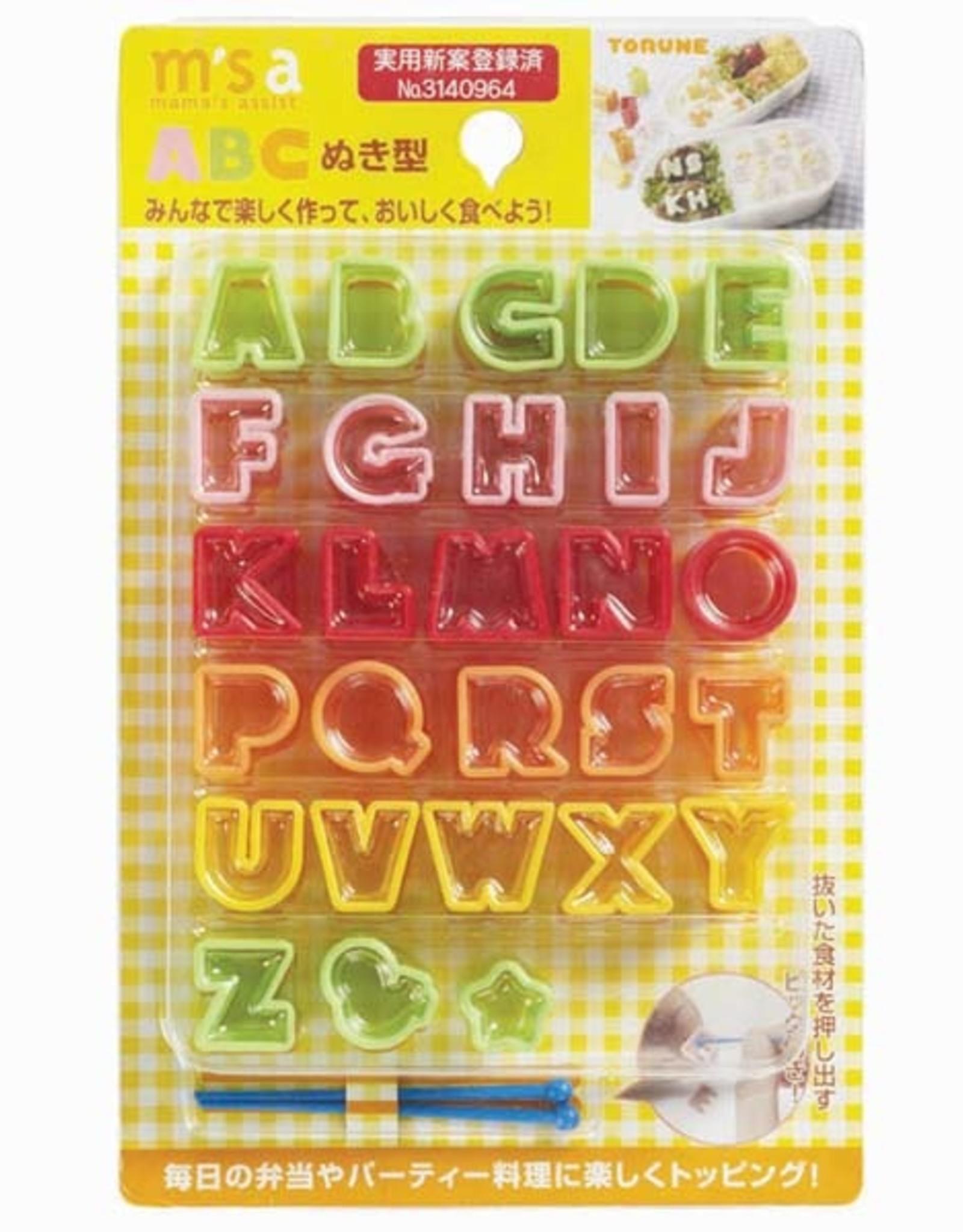 Torune Bento uitsteekset 'Alfabet'