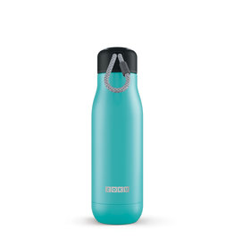 Zoku RVS drinkbeker - Turquoise 500 ml