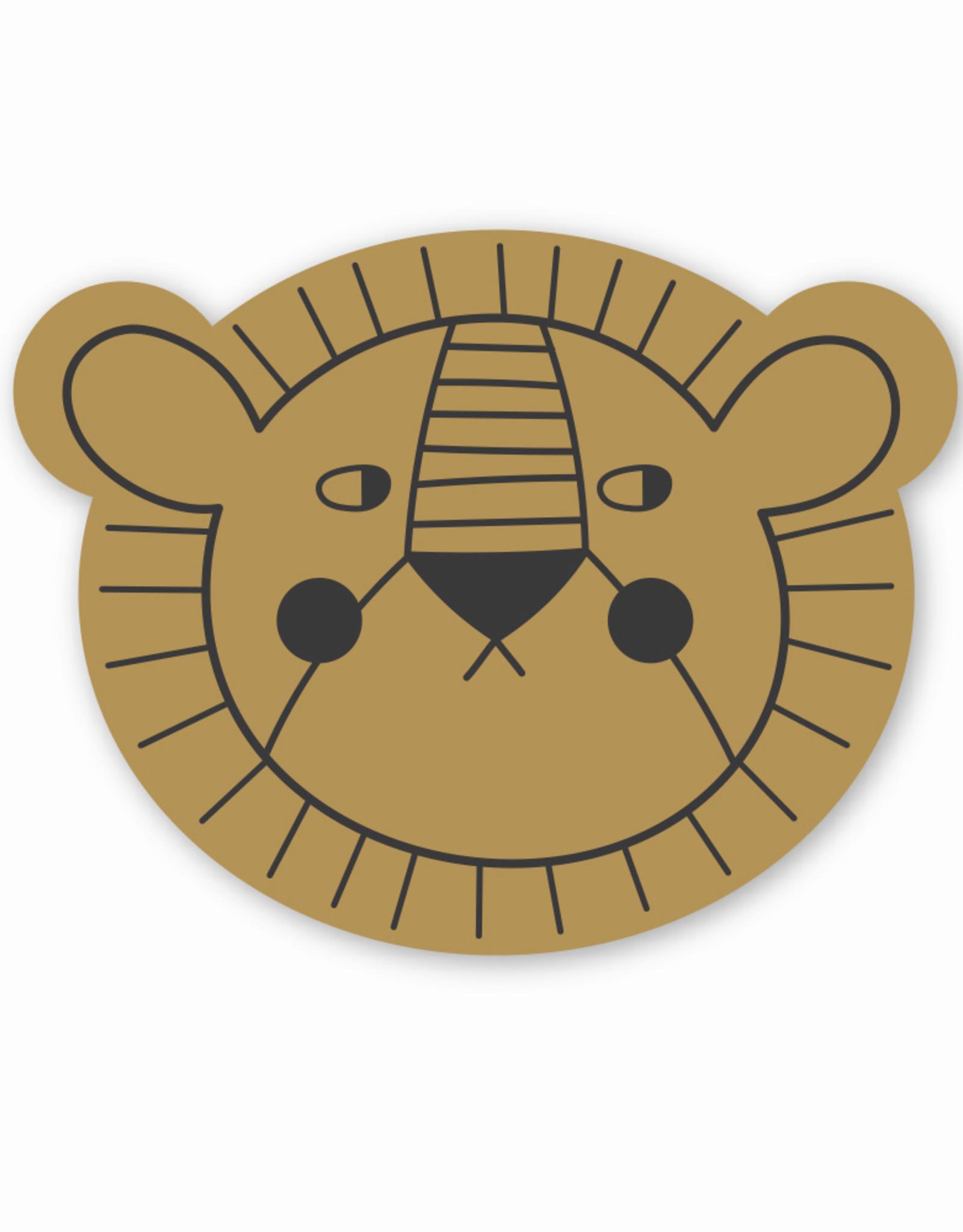 STUDIOLOCO Placemat Mr lion - Studio Loco