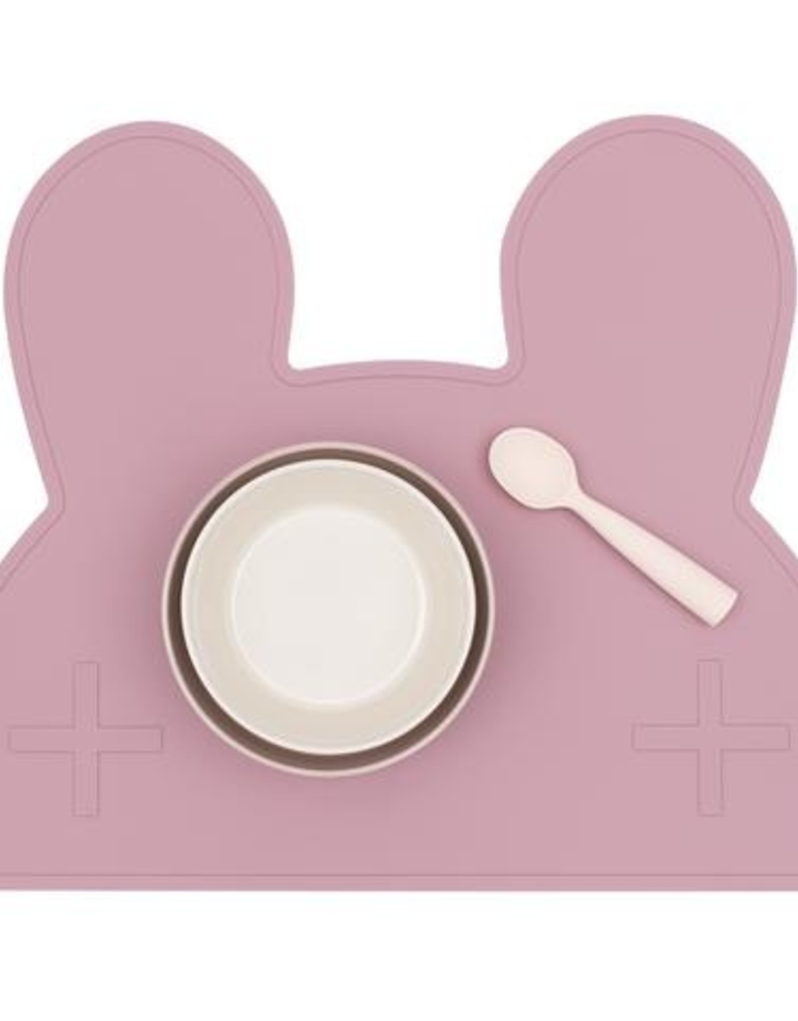 We Might Be Tiny Placemat bunny - Dusty rose