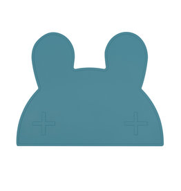 We Might Be Tiny Placemat bunny - Blue dusk